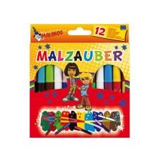 Волшебные фломастеры Malzauber (12 штук), Malinos
