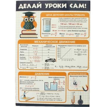 "Буклет ""Делай Уроки Сам"" Физика и Химия: 7-8 класс"