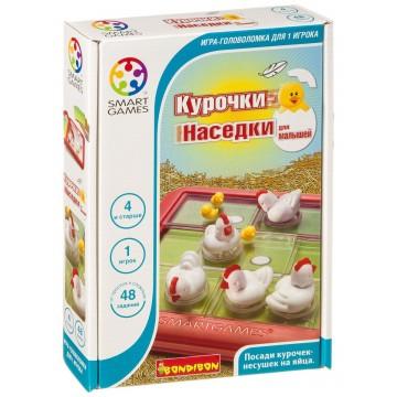 """Логическая игра """"Курочки-Наседки"""" для малышей, Bondibon"""