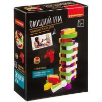 """Развивающая деревянная игра-баланс """"Овощной бум"""", Bondibon"""