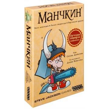 "Настольная карточная игра ""Манчкин"", Мир Хобби (Hobby World)"
