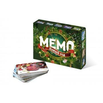 """Обучающая игра """"Мемо. Новый год"""" с подвеской на елку, Нескучные игры"""