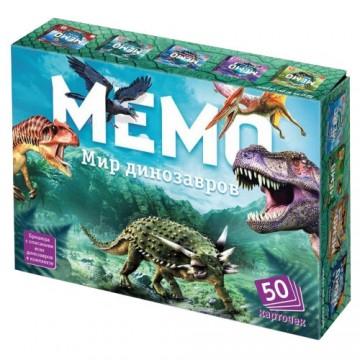 """Обучающая игра """"Мемо. Мир динозавров"""", Нескучные игры"""