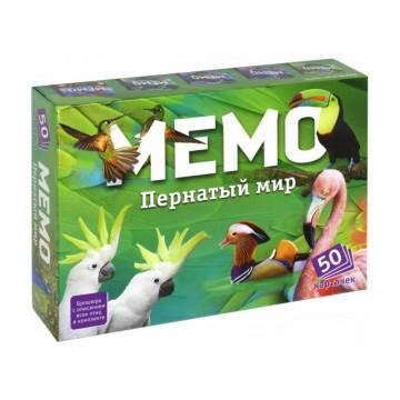 """Обучающая игра """"Мемо. Пернатый мир"""", Нескучные игры"""