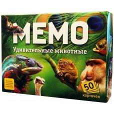 """Обучающая игра """"Мемо. Удивительные животные"""", Нескучные игры"""