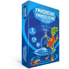 """Настольная игра-тренажер """"Умножение умноделение"""", УМЦ Ребус"""