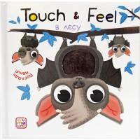 Touch & Feel. Погладь меня! В лесу (тактильная книжка), Malamalama