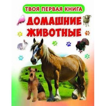 Твоя первая книга. Домашние животные, Кристал Бук