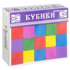 """Развивающие деревянные кубики """"Веселая азбука"""", Томик"""