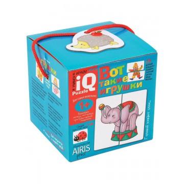 """IQ пазлы для самых маленьких. """"Вот такие игрушки"""" 1+ , АЙРИС-пресс"""