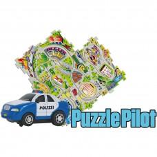 Управляемый пазл Puzzle Pilot Police Car (Полицейский патруль), Amewi