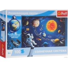 """Развивающий пазл """"Солнечная система"""" (100 деталей), Trefl"""