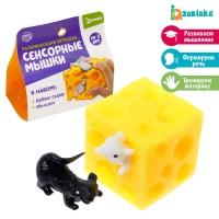 Развивающая игрушка «Сенсорные мышки», Zabiaka