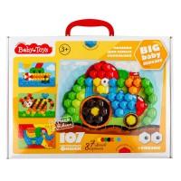 Мозаика для самых маленьких Baby Toys (107 элементов) Трактор, Десятое королевство