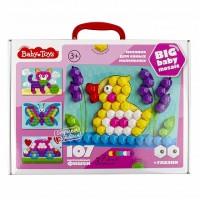 Мозаика для самых маленьких Baby Toys (107 элементов) Утенок, Десятое королевство