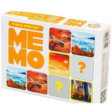 """Настольная игра """"Мемо. Чудеса природы"""", Десятое королевство"""