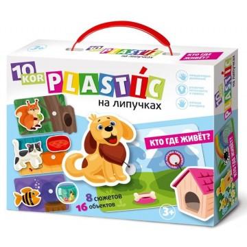 Пластик на липучках. Кто где живет, Десятое королевство