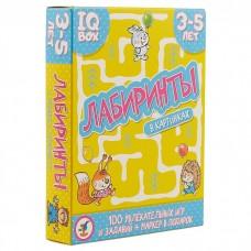 IQ Box «Лабиринты в картинках», 100 заданий, Дрофа-Медиа